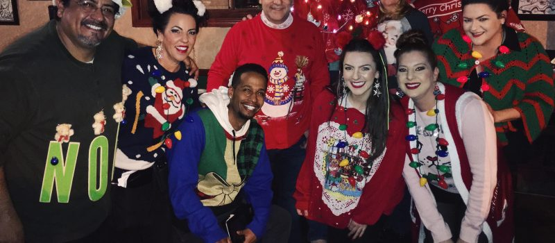 Ugly Sweater Xmas Party: Tuesday Dec. 12th